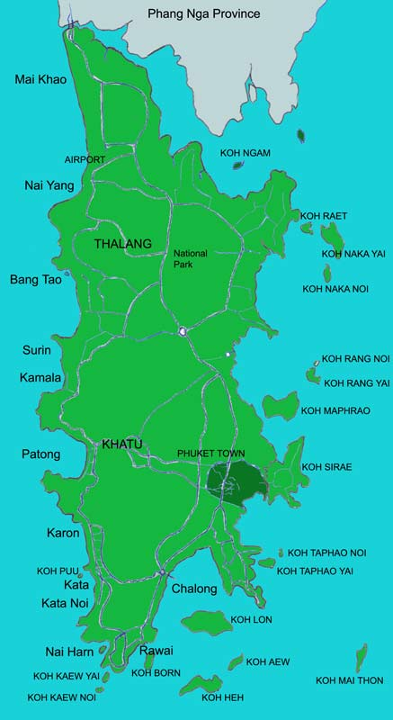 Large Phi Phi Islands Maps For Free Download And Print High