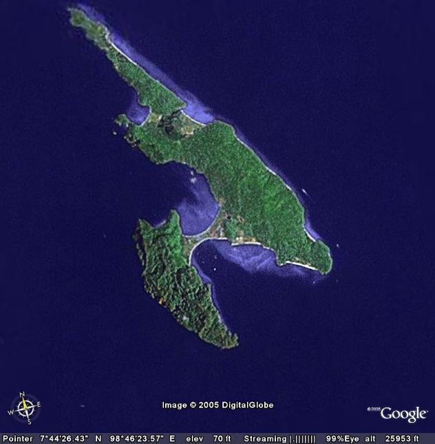 The Phi Phi Beach Resort Map: Pipi